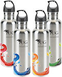 25oz Stainless Steel Wave Bottles